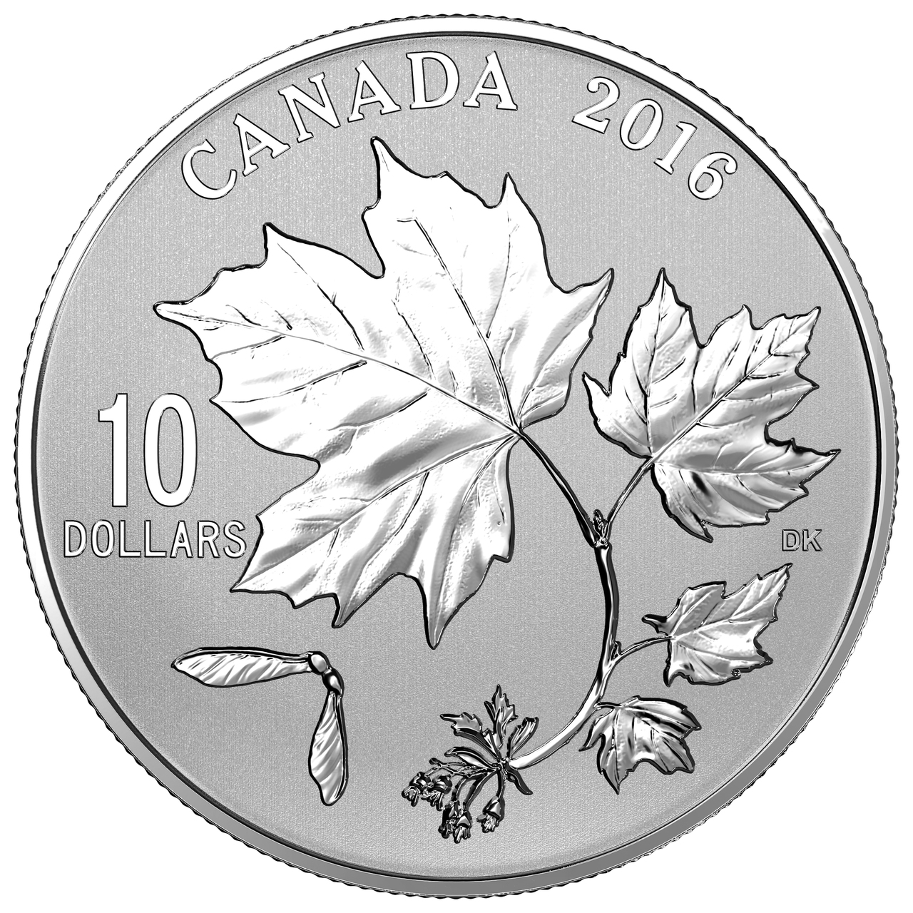 2019 $10 1//2 OZ FINE SILVER COIN ROYAL CANADIAN MINT MAPLE LEAVES