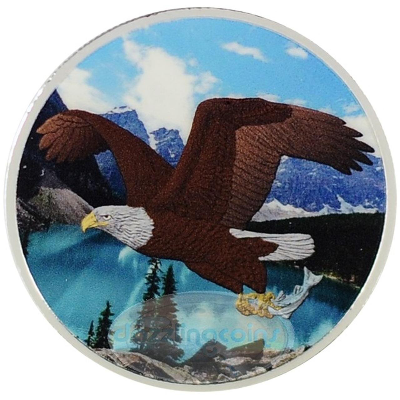 2014 Silver 1 oz Canada Birds of Prey Bald Eagle