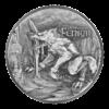 2021 The Binding of Fenrir 2 oz Silver Coin Reverse